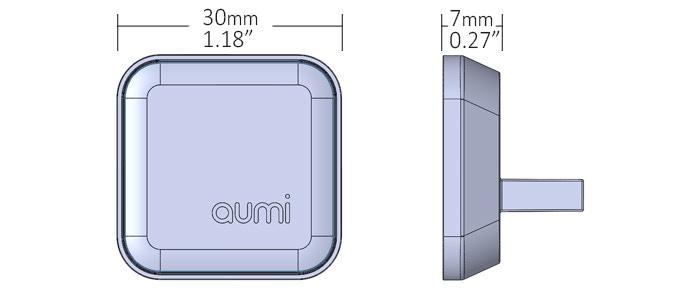 size of the Aumi mini
