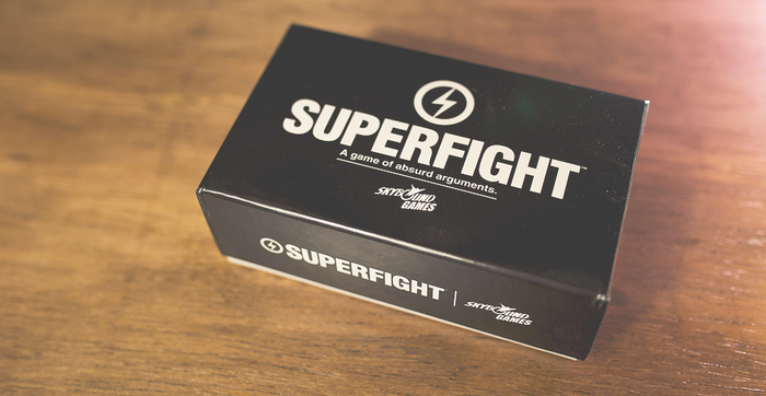 Superfight is now published by The Walking Dead creator Robert Kirkman's SKYBOUND! Learn more at SuperfightGame.com!