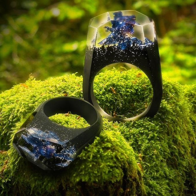 Enchanted Flower Ring
