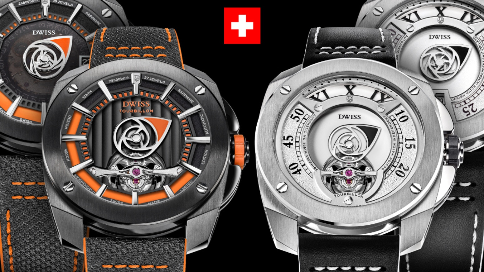 The only Swiss Made tourbillon ever presented and funded online, in just four (4) minutes. A crowdfunded luxury watch for real!