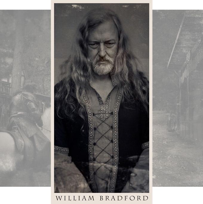 Only known portrait of William Bradford, circa 1530