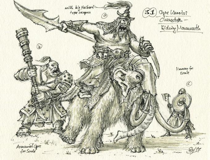 Chieftain on Mammoth