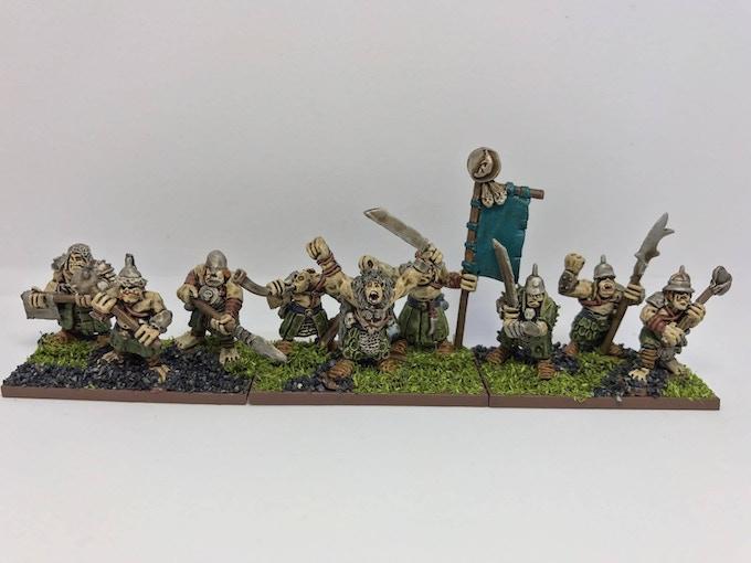 Armoured Ogre Warriors