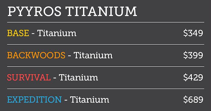 Pledge Titanium
