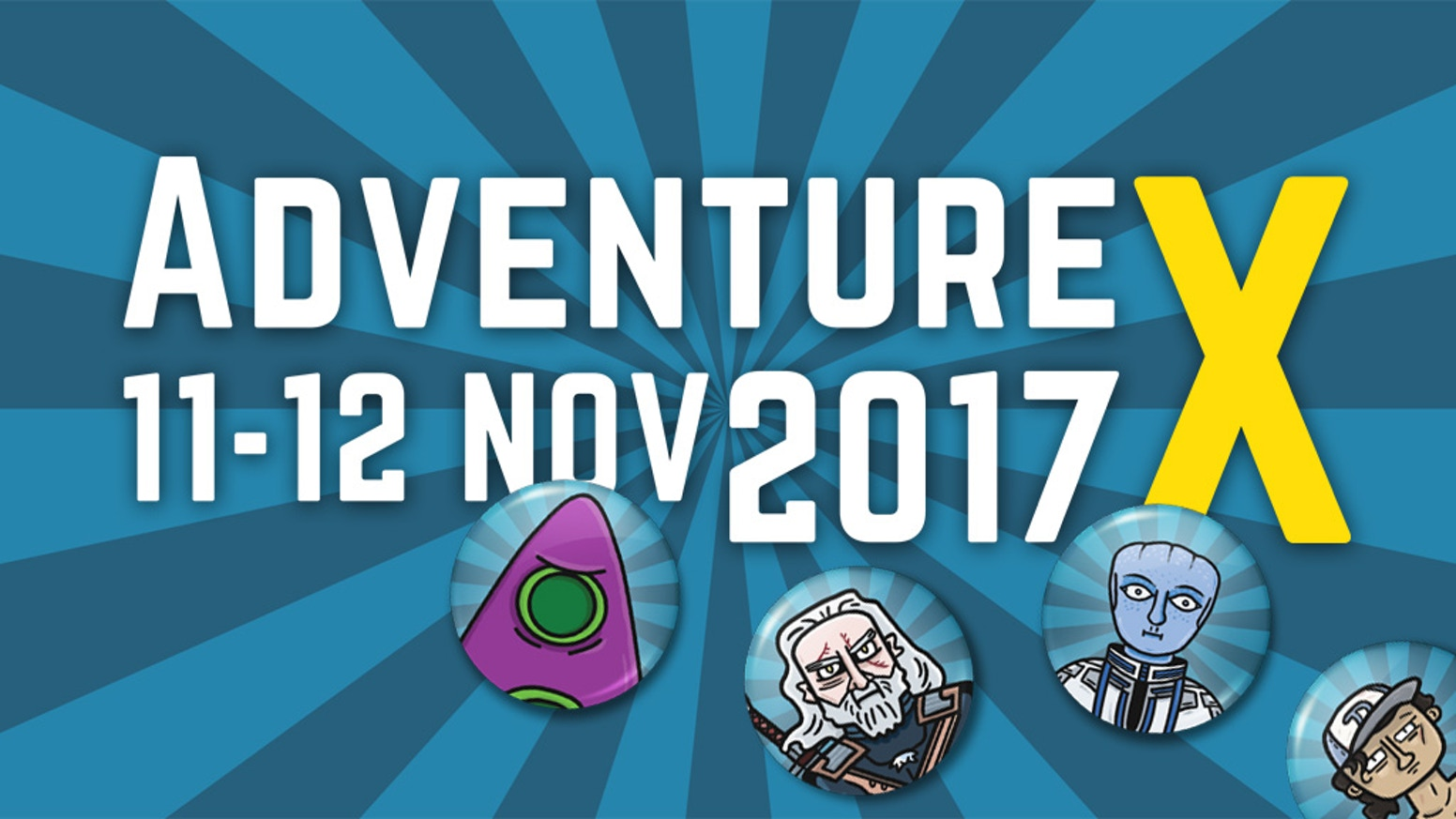 The only convention dedicated to Graphical Adventures, Interactive Fiction, First Person Experiences, Visual Novels and more.