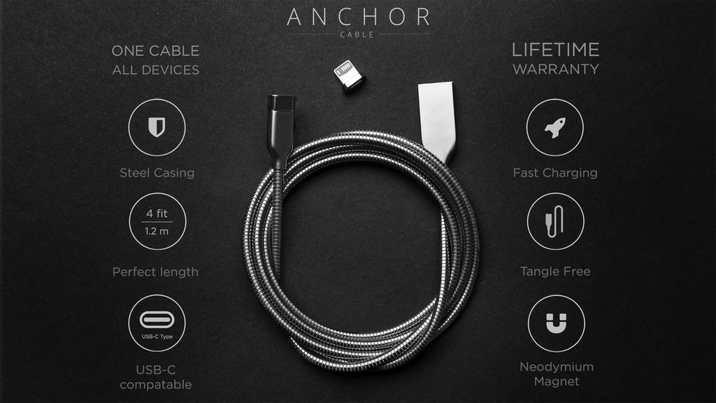 ANCHOR CABLE - Last cable you will ever need project video thumbnail
