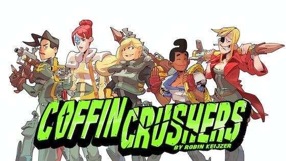 Coffin Crushers – the comic!