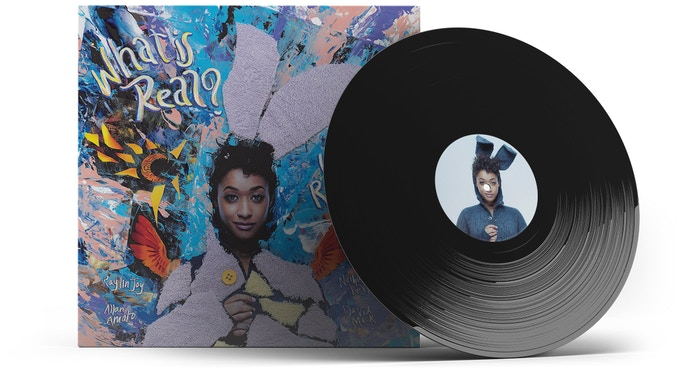 What Is Real? Vinyl Mockup