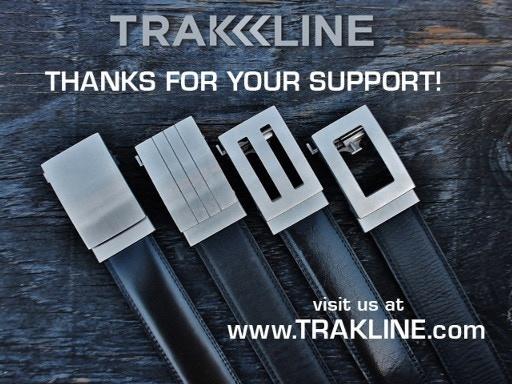 Our original Kickstarter Trakline belt campaign from 2013
