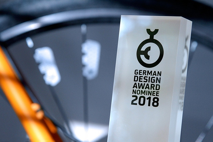 FLECTR ZERO - nominee for the German Design Award 2018