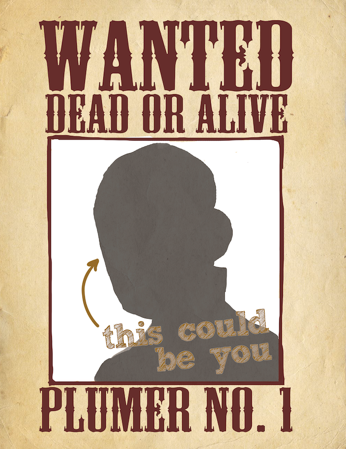 Get Plume-ified! You drawn on a wanted poster by K. Lynn Smith. A limited, one-of-a-kind reward only available here!