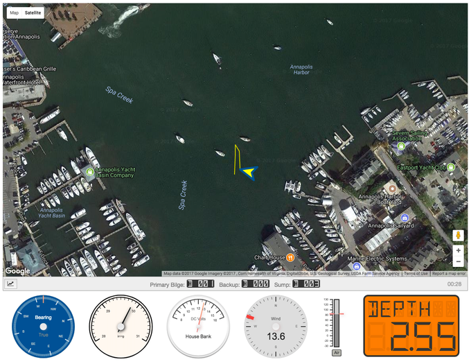 Click above to use the online interface, complete with live data from a FloatHub-equipped vessel.