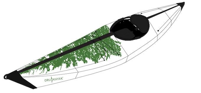 Assembled Tree Boat mock up