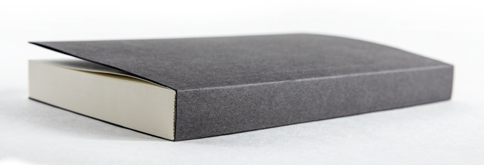 Blank Unruled Notebook. Same size and construction as the paperback edition of Bibliotheca.