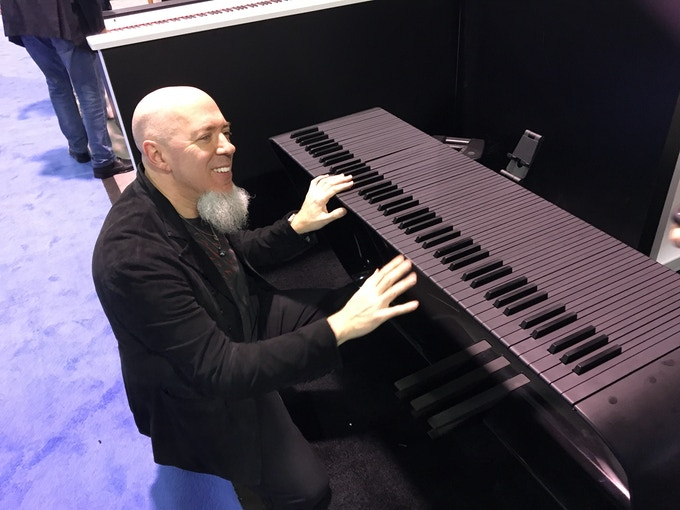 Jordan Rudess from Dream Theater playing the mPIANO prototype
