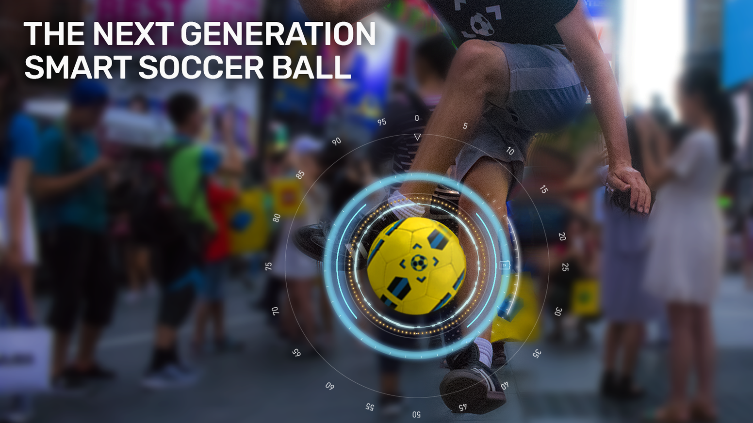 PLEASE READ THIS FIRST: The Smart Soccer Ball has new updates and different pricing since this Kickstarter campaign ended, please click the button below to go to our website.