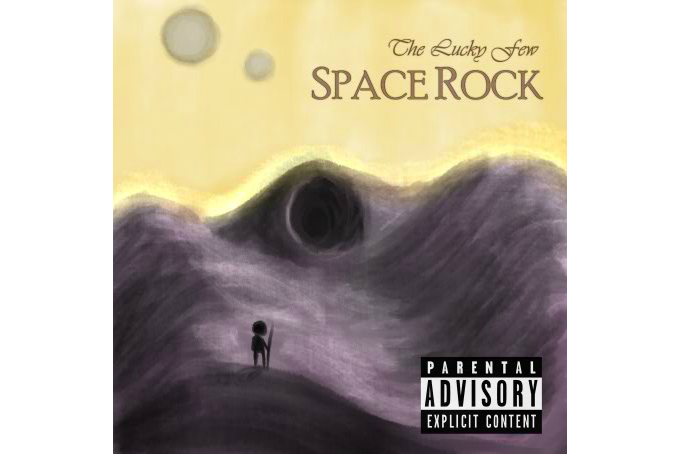 An album cover by Evan Rowland.