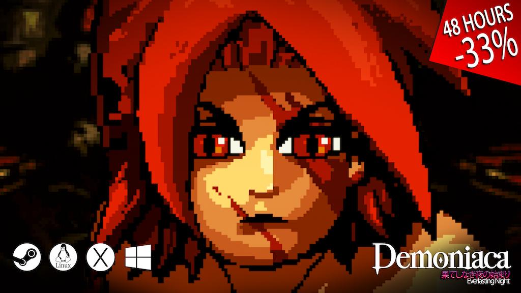 Demoniaca: Everlasting Night Kickstarter Campaign Launches