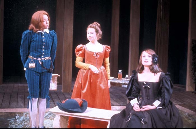Diana Rigg in the original 1966 production of Twelfth Night