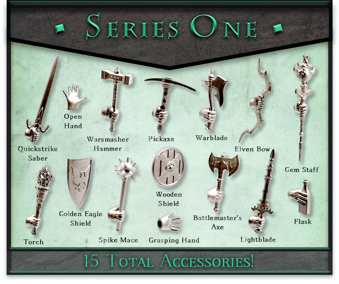 These accessories are included with all pledge tiers