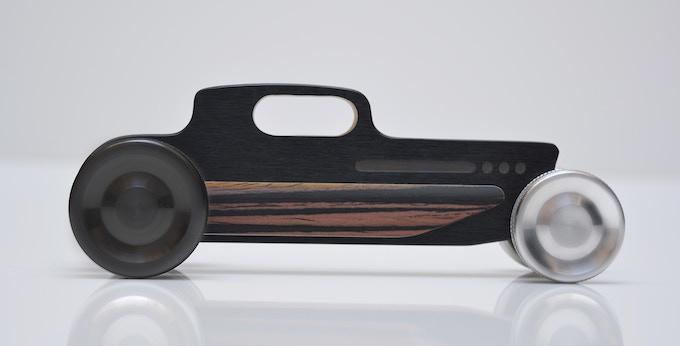 Hot Rod Nº 1 rear wheel black anodized
