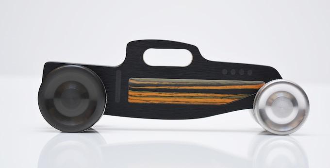 Hot Rod Nº 3 rear wheel black anodized