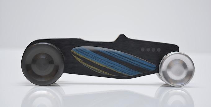 Hot Rod Nº 4 rear wheel black anodized