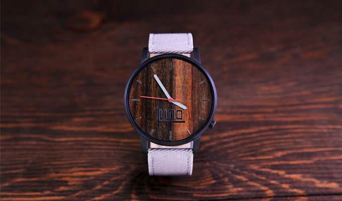 All natural, responsibly sourced wood or bamboo keeps each watch unique