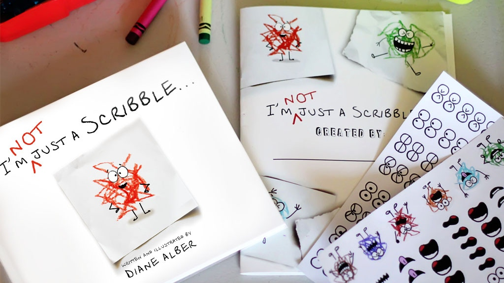 I'm NOT just a Scribble-Children's Book that inspires ART! project video thumbnail