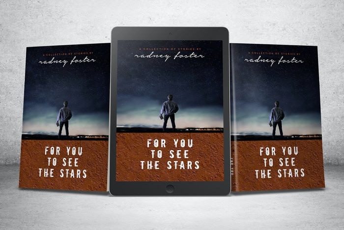 Singer/Songwriter Radney Foster is releasing a book of short fiction, a companion piece to his new CD. Be one of the first to read it!