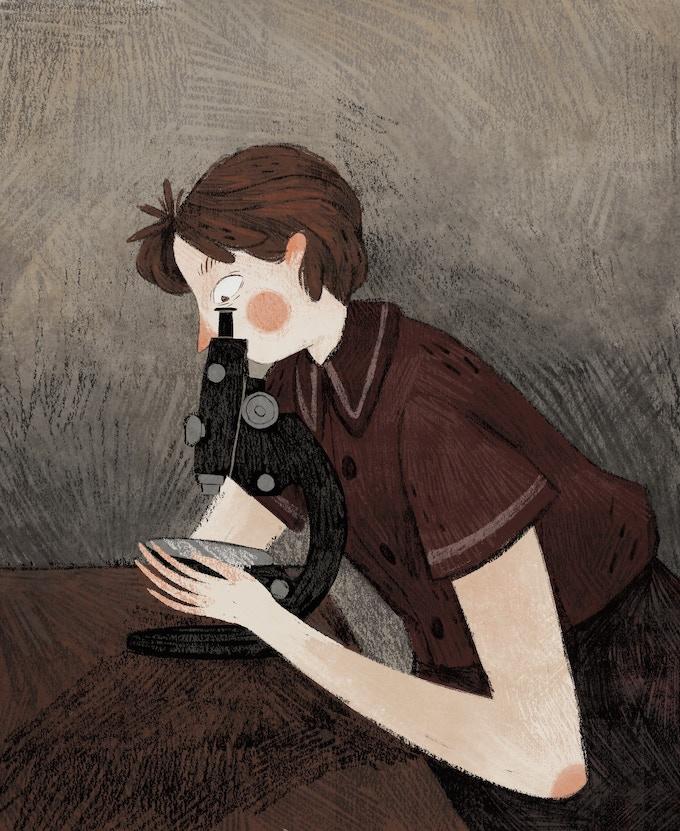"""""""Rosalind Franklin"""" by Taryn Knight"""