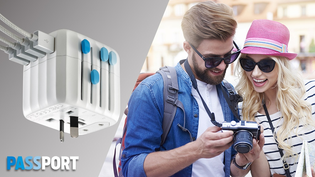 Passport - The World's First Fail-Safe Global Travel Adapter