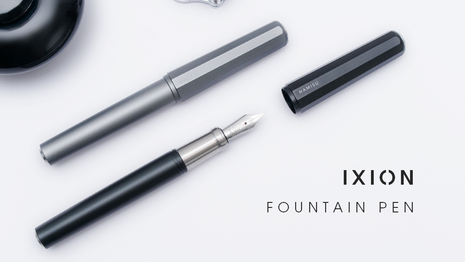 A modern fountain pen with a minimalist design. Premium materials and high-end components at an affordable price.