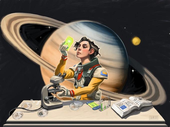 """Chemistry Kit Scout"" by David Hovey"