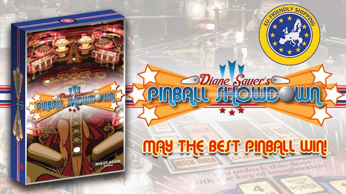 Rad Pinball Themed Card Game