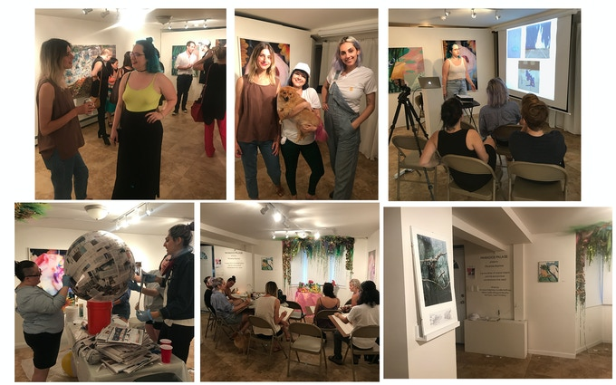 """From Show #1, """"Paradise Express"""" (Pictures from the opening and affiliated programs)"""