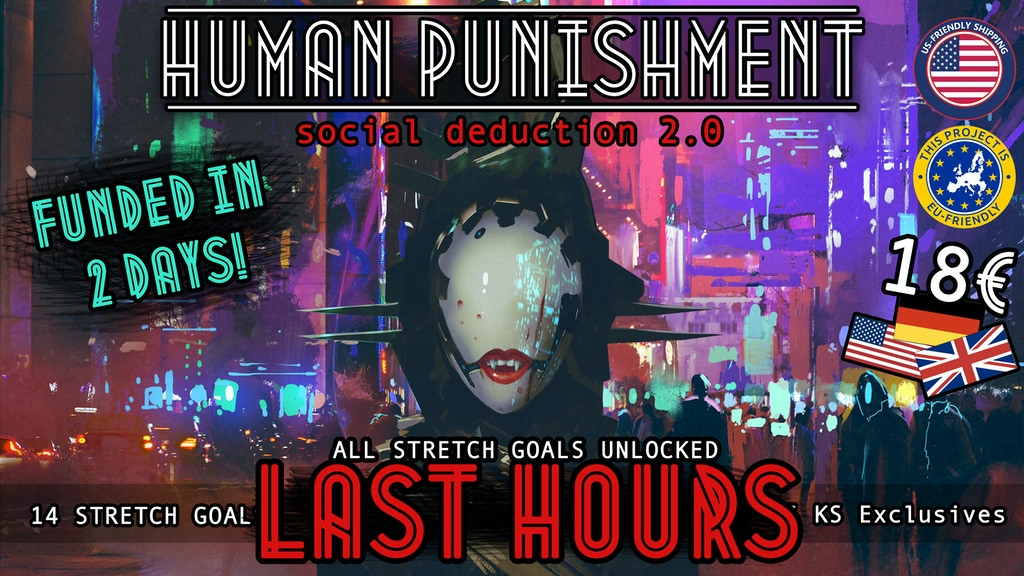 Human Punishment - social deduction 2.0 project video thumbnail