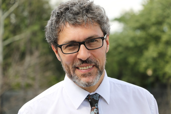 Theoretical physicist Miguel Alcubierre