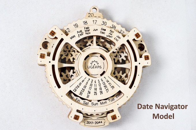Ugears Date Navigator for 2017-2044