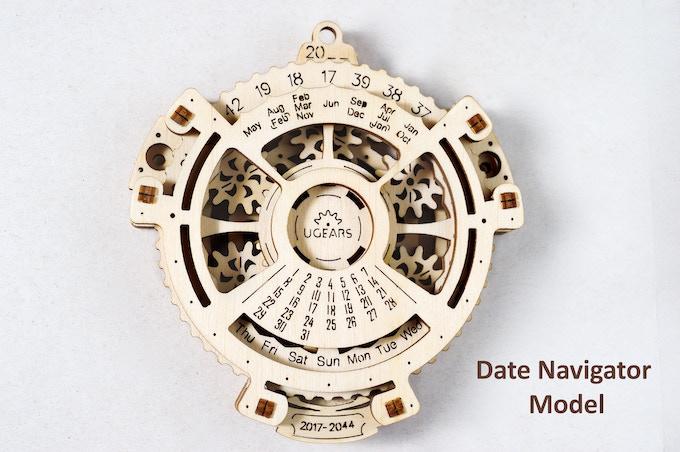 Ugears Date Navigator for 2017-2044