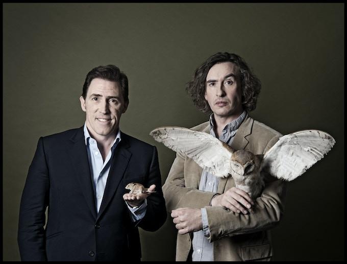 Steve Coogan and Rob Brydon