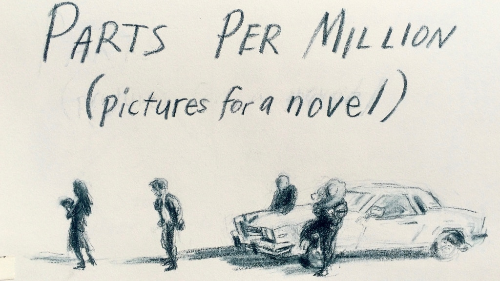 Illustrations for the novel Parts per Million project video thumbnail