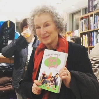 We can't thank Margaret Atwood enough for her support and cheerleading of the project!