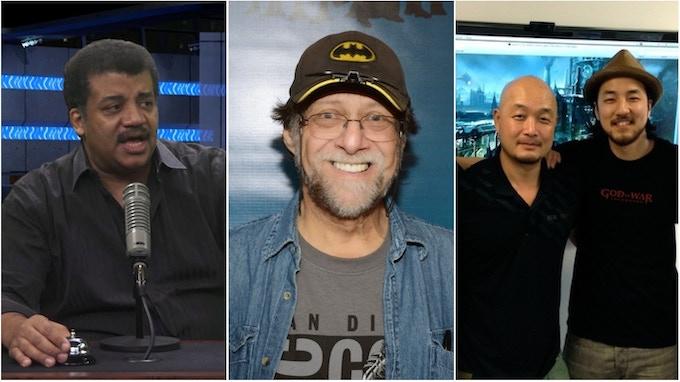 Neil, Len, Cecil & Justin