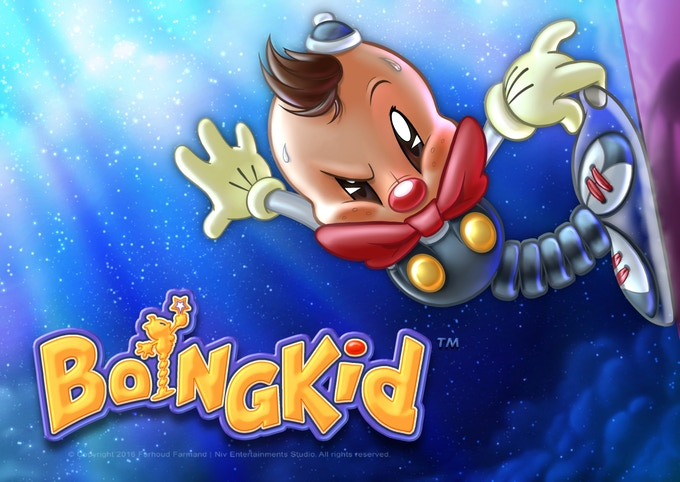Boingkid™ can explore highest walls and ceilings with his suction cup.