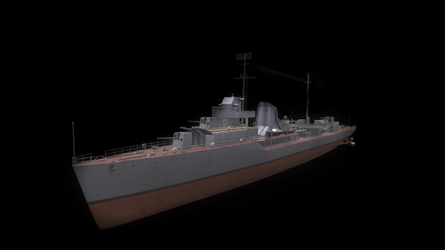 Gnevny-class destroyer