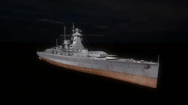Deutschland-class cruiser