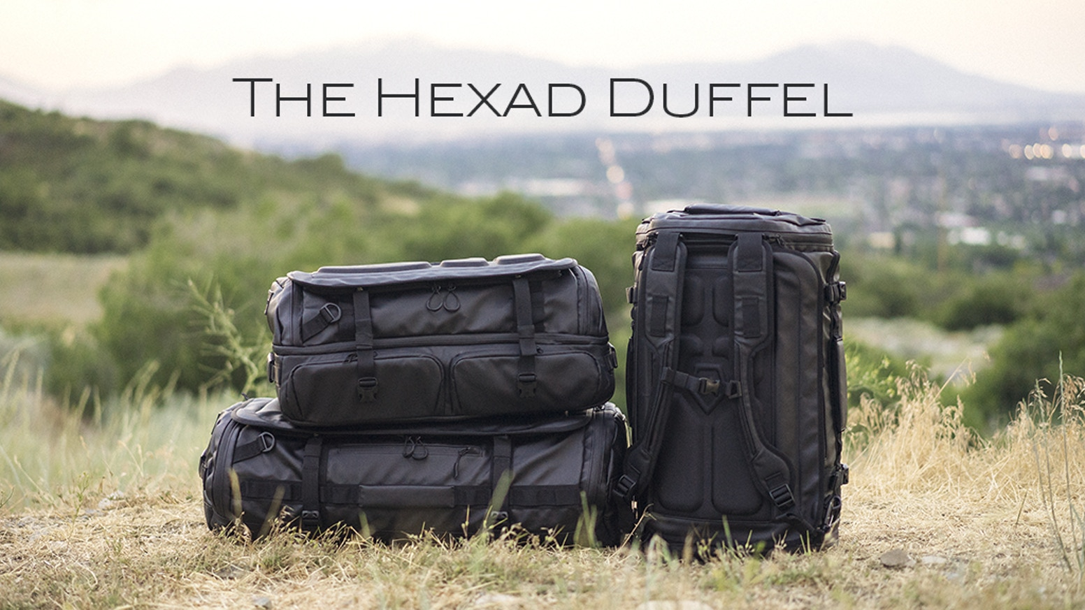 More functional than a traditional duffel. More versatile than a dedicated travel bag.