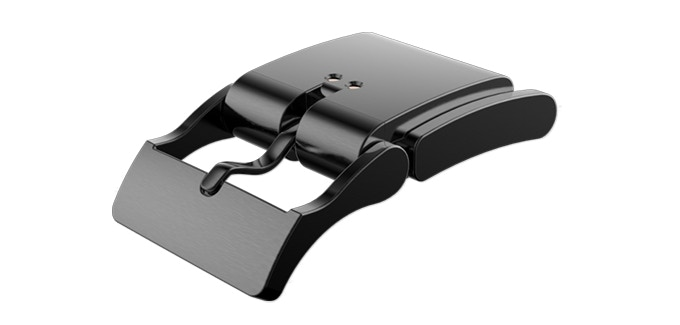 Get a Gun Metal Grey Smart Buckle for $49