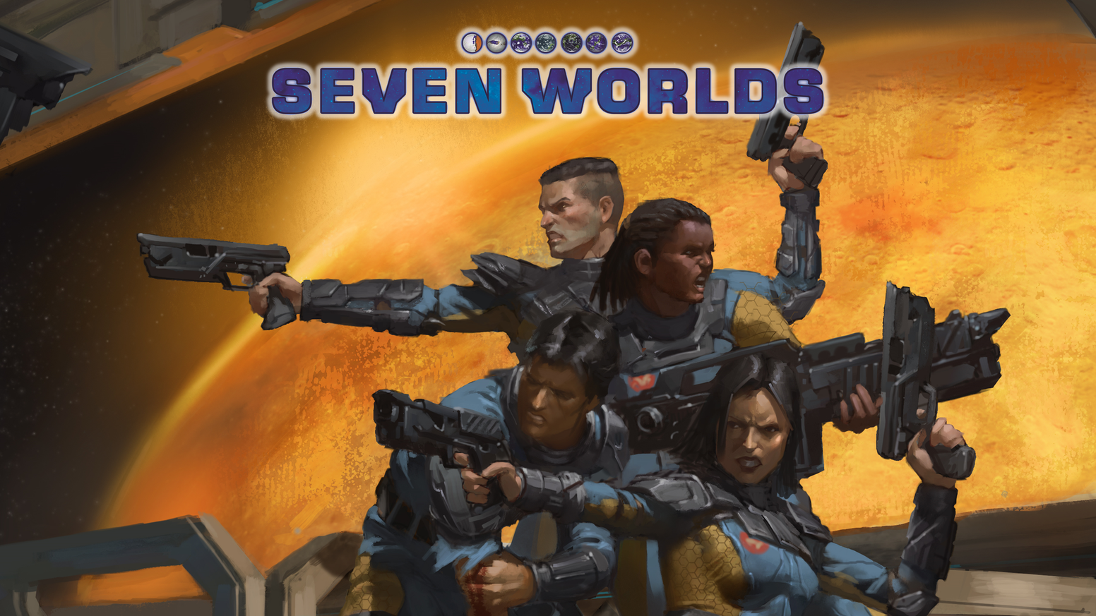 Seven worlds realistic science fiction for savage worlds for Bureau 13 savage worlds